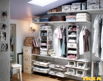 Interior dressing room from IKEA