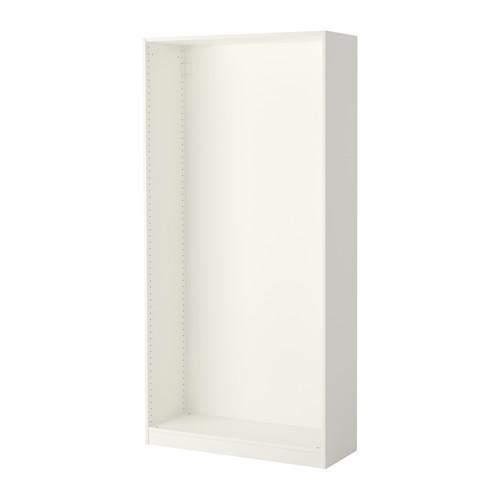 ПАКС Каркас гардероба - белый, 100x35x201 см