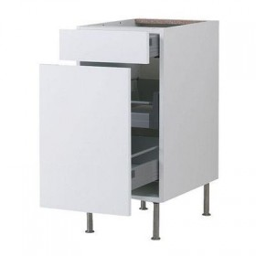FAKTUM Base cabinet / drawer / box - Abstract white, 40 cm