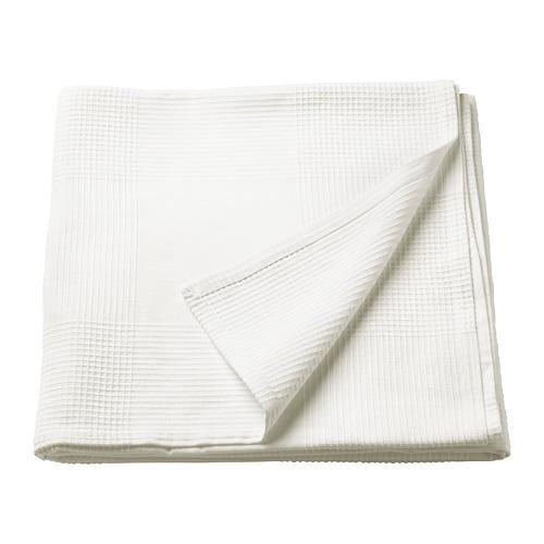 ИНДИРА Покрывало - белый, 150x250 см