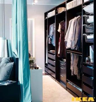Szafa wnętrze z IKEA