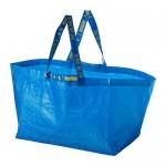 FRAKTA сумка, большая синий 37x35 cm