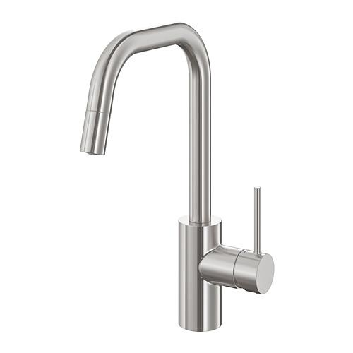 ÄLMAREN kitchen mixer with stainless steel spout