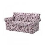 ЭКТОРП Чехол на 2-местный диван-кровать - Ховби сиреневый