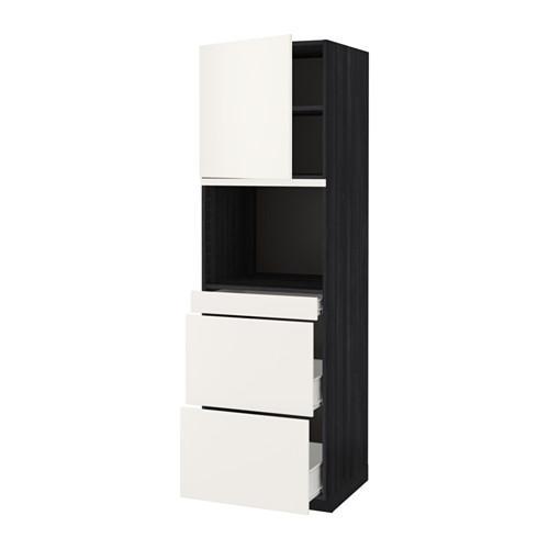 methode forvara hochschrank d mikrowelle t r 3. Black Bedroom Furniture Sets. Home Design Ideas