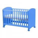 МАММУТ Кроватка детская - синий