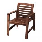 ĘPPLARÖ brązowa plama na krzesło ogrodowe