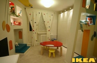 Interior Children's IKEA Room