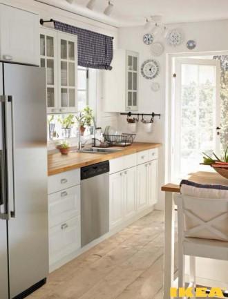 Interior dapur dalam gaya country