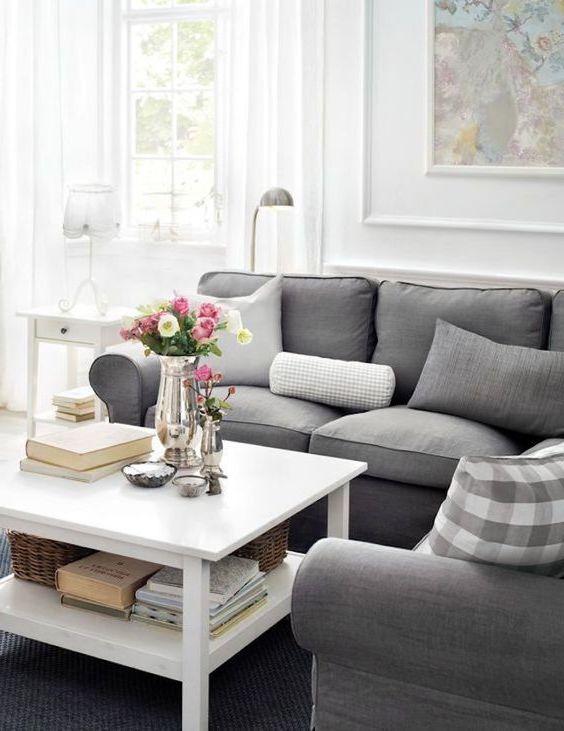Elegant stue av IKEA