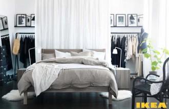 Bedroom interior from IKEA