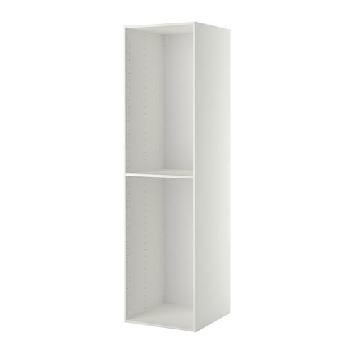 МЕТОД Каркас высокого шкафа - 60x60x220 см, белый