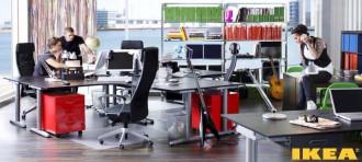 IKEA kancelářských interiérů