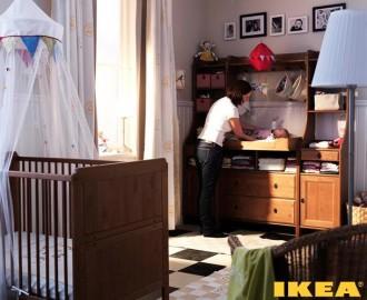 Stanza del bambino una foto neonato