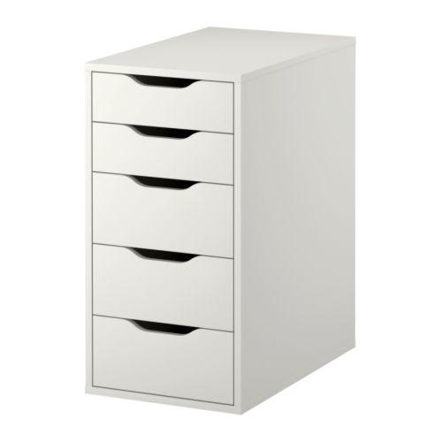 ALEX Drawer with drawers - white