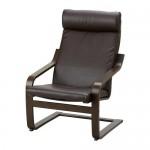 ПОЭНГ Подушка-сиденье на кресло - Кимстад темно-коричневый, Кимстад темно-коричневый