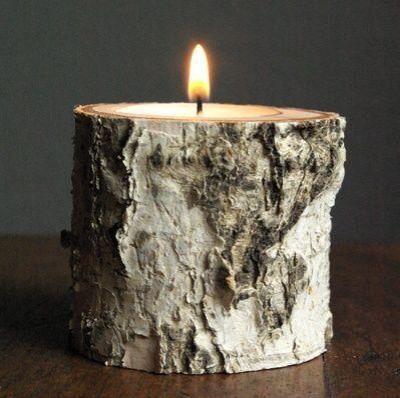 La idea de velas para la calefacción y velas perfumadas IKEA