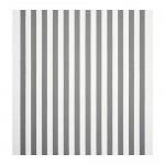 SOFIA-stof met brede strepen / wit / grijs