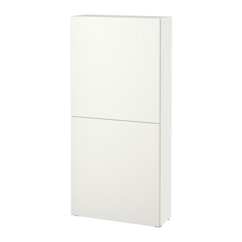 БЕСТО Навесной шкаф с 2 дверями - Лаппвикен белый