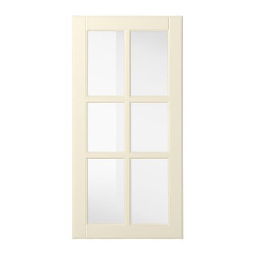 БУДБИН Стеклянная дверь - 40x80 см