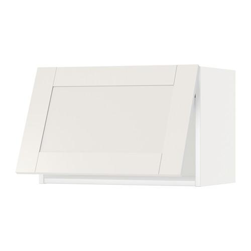 МЕТОД Горизонтальный навесной шкаф - 60x40 см, Сэведаль белый, белый