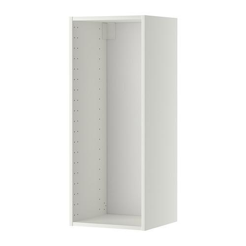 МЕТОД Каркас навесного шкафа - 40x37x100 см, белый