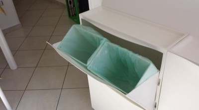 Waste basket of IKEA Shoe cabinet TRONES
