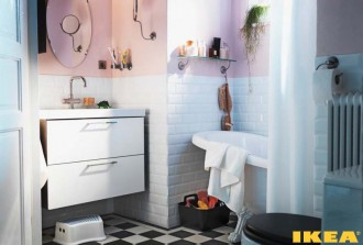 Interior bath room IKEA