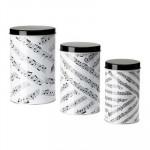 YULKUL set van containers, 3 stukken