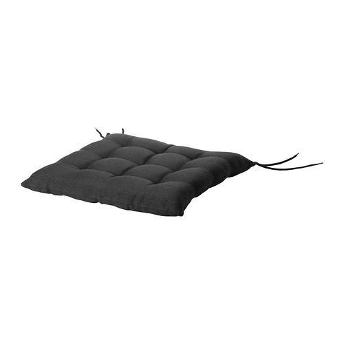 ХОЛЛО Подушка на садовый стул - черный