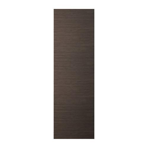 СЕЛЬСВИКЕН Дверь - рисунок бамбука/глянцевый/коричневый