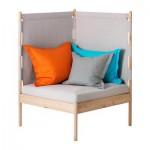 Kerusi IKEA PS 2014 dengan bantal