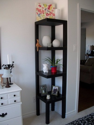 A wonderful corner shelf from LAKK tables