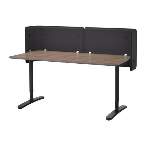 Bekant Tabelle Rezeption - grau / schwarz