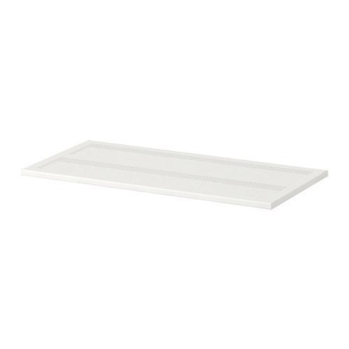 АЛЬГОТ Полка - металл белый, 80x38 см
