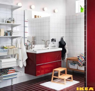 Интерьер ванной комнаты для всей семьи 9 метров квадратных