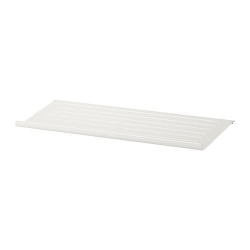 КОМПЛИМЕНТ Полка для обуви - белый, 100x35 см