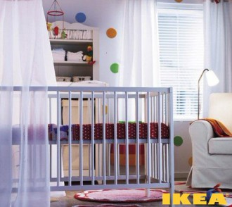 Interior Children's IKEA Room
