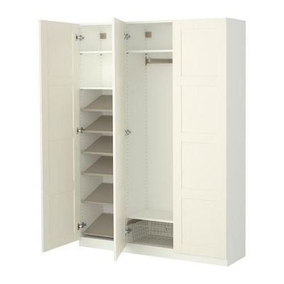 pax kleiderschrank innenelemente standard scharniere s99002689 bewertungen preisvergleiche. Black Bedroom Furniture Sets. Home Design Ideas
