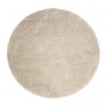 ÅDUM teppe, lang haug hvit med et snev av 130 cm