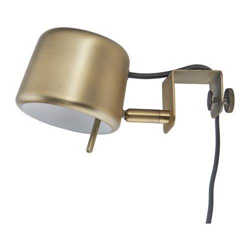 ВАРВ Лампа с зажимом