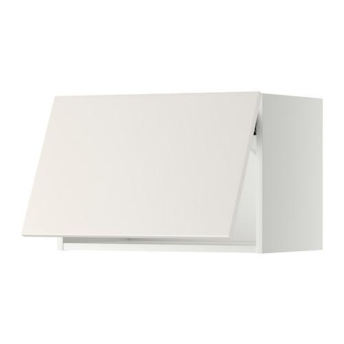 МЕТОД Горизонтальный навесной шкаф - 60x40 см, Веддинге белый, белый