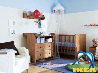 Interiér Dětský pokoj IKEA