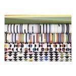 СУСАННА Ткань - орнамент-круги/разноцветный