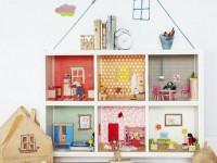 Another idea of the dollhouse rack Kallax
