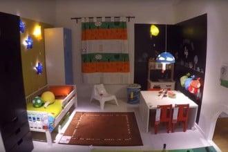 Интерьер детской комнаты с мебелью СТУВА