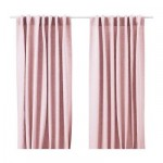 AINA curtains, 2 Pieces - Pink