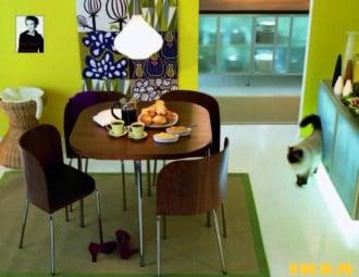 Interiør IKEA spisestue
