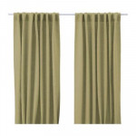 AINA curtains, 2 pieces - light green