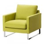 МЕЛБИ Чехол кресла - Дансбу желто-зеленый